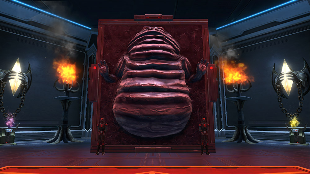 Carbonite Bounty Hutt Decoration Swtor Strongholds