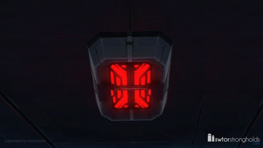 SWTOR Emergency Ceiling Light (Red)