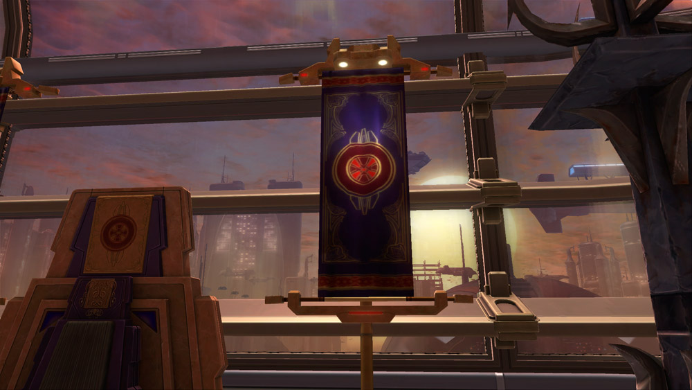 Flag House Thul Decoration Swtor Strongholds