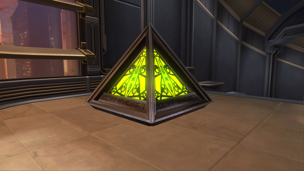 SWTOR Holocron of Fear
