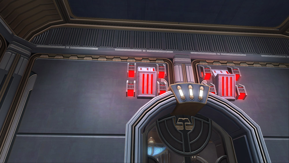 SWTOR Imperial Wall Sconce