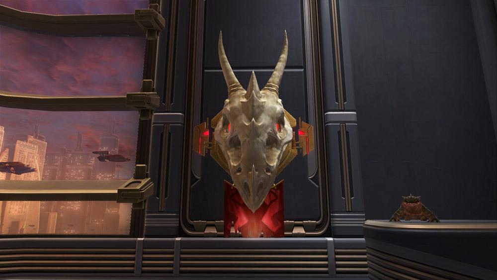 SWTOR Krayt Dragon Skull