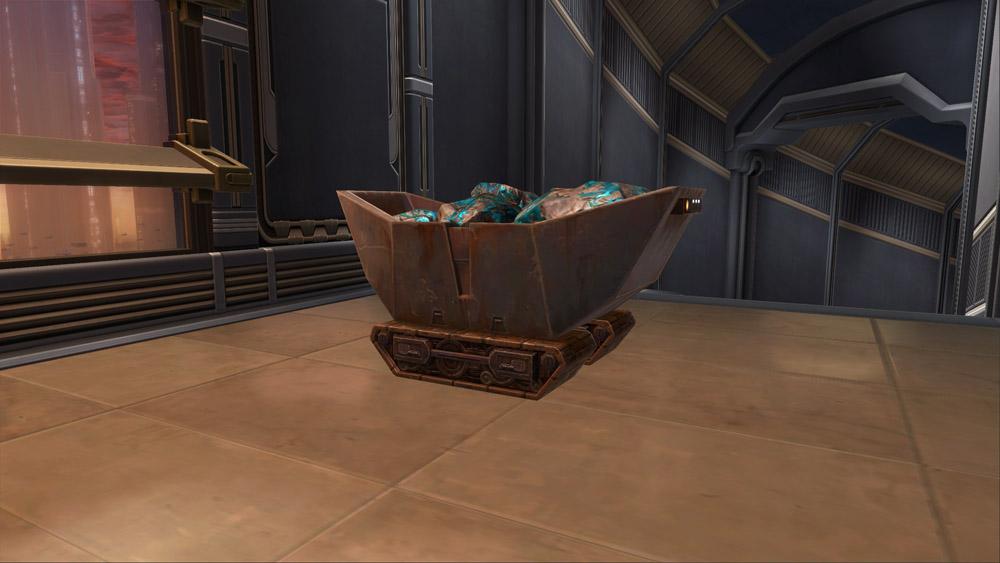 Mine Cart (Baradium)