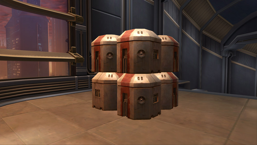 SWTOR Republic Crate (Stacked)