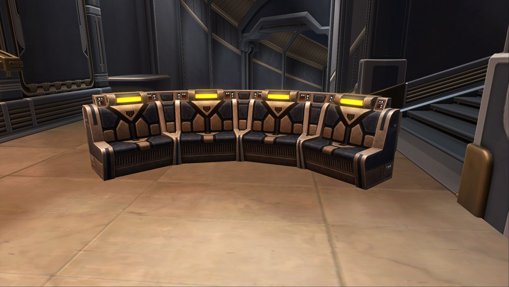 SWTOR Republic Starship Couch