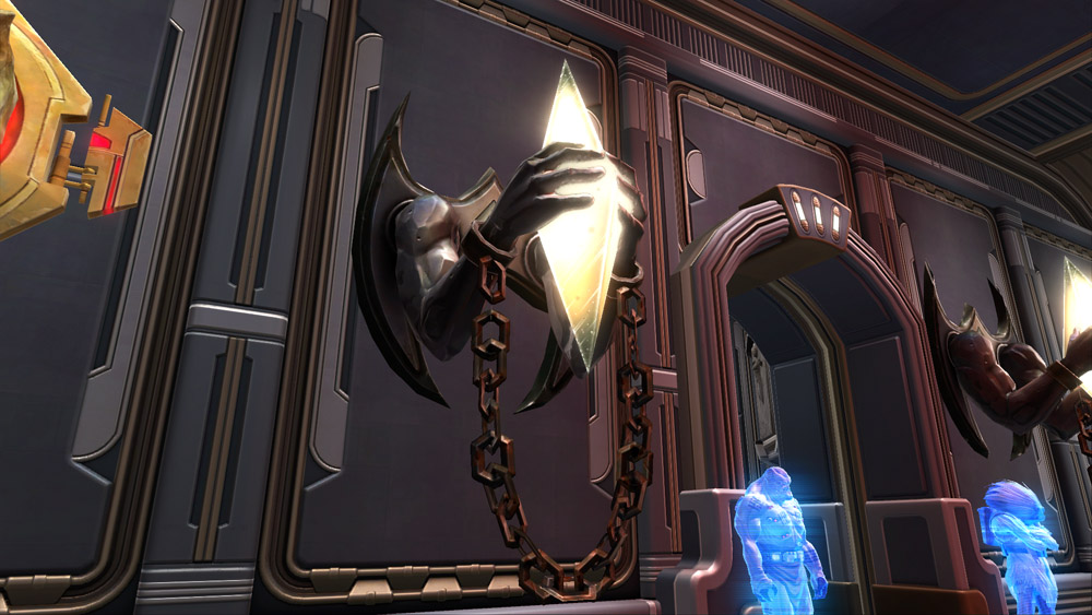 SWTOR Shackled Crystal Sconce