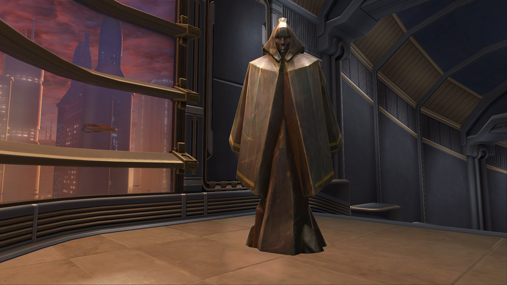 SWTOR Statue of Cowled Man