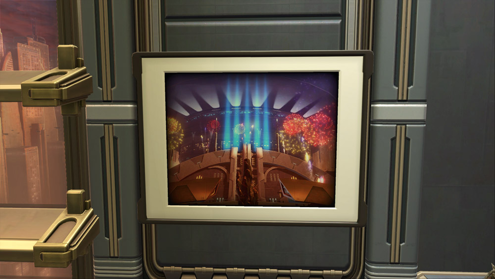 SWTOR Art: 3rd Anniversary Celebration – Coruscant
