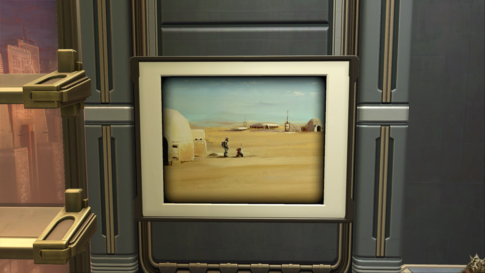 Art: Tatooine Landscape