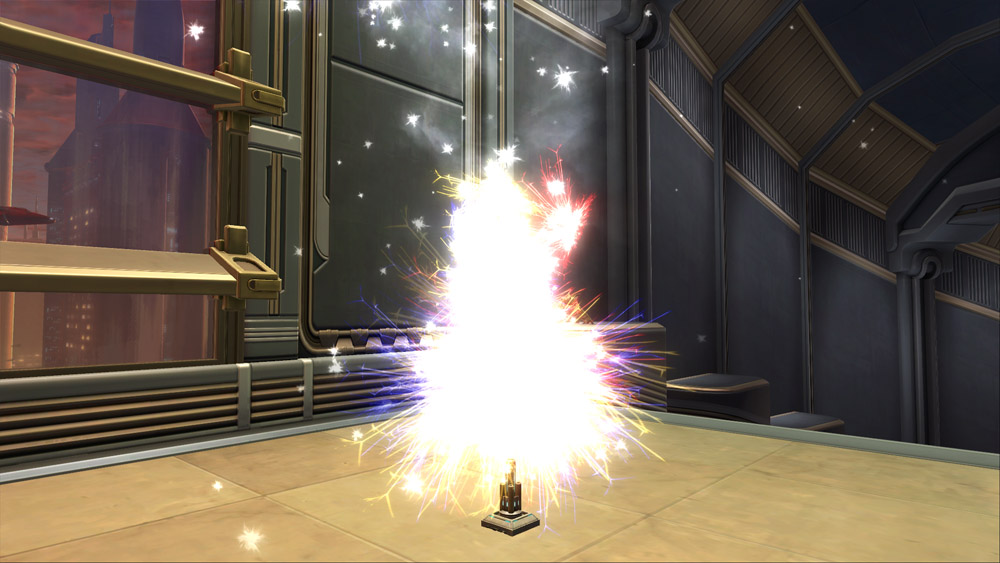 3rd Anniversary Fireworks Launcher