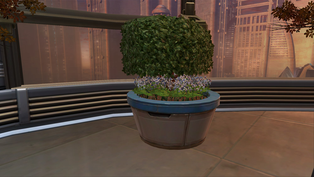 SWTOR Topiary Tree (Hedge)