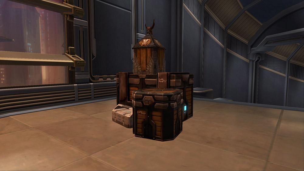 SWTOR Arrangement: Rishi Crates