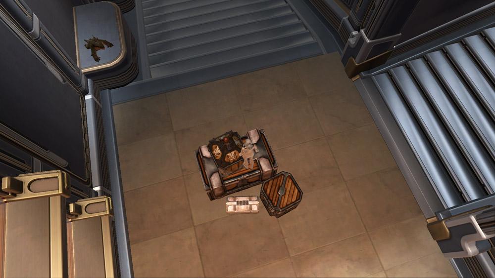 Arrangement: Rishi Crates top view