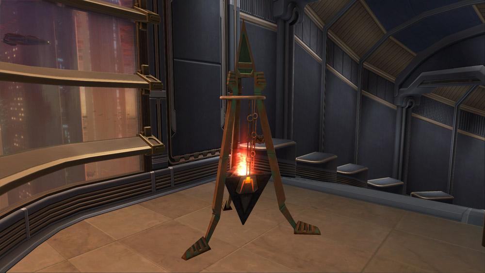 SWTOR Yavin Floor Lamp