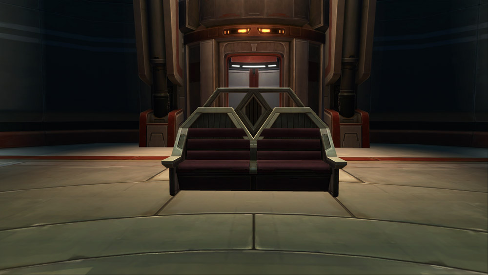 SWTOR Austere City Bench