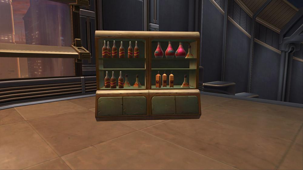 SWTOR Cantina Bar Cabinet