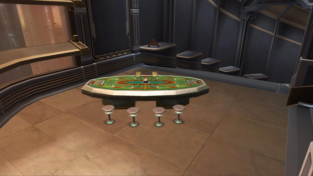 Swtor Casino Table Decoration