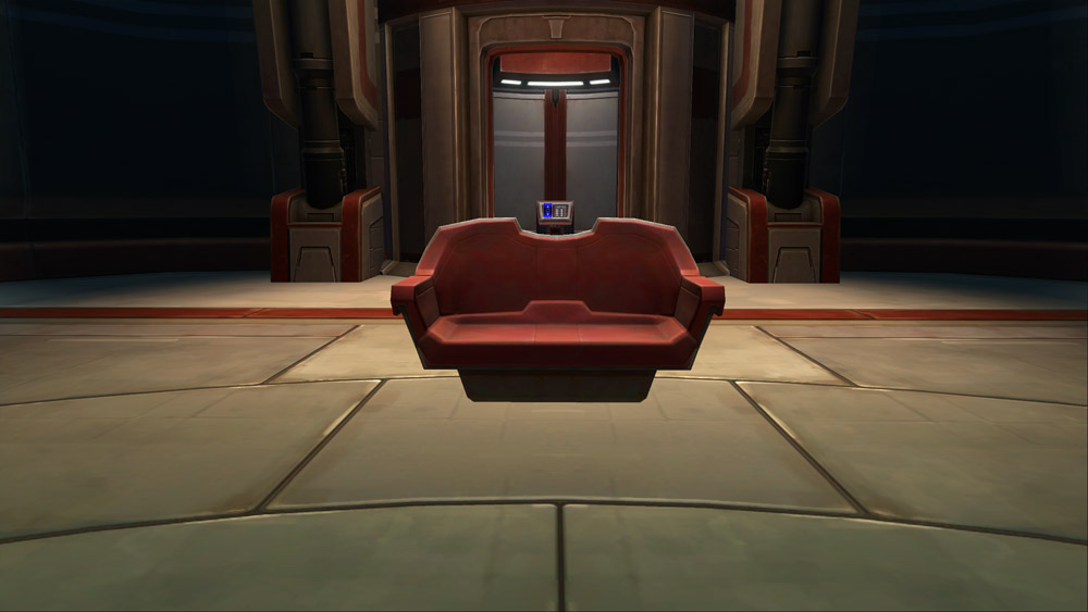 SWTOR Cantina Loveseat