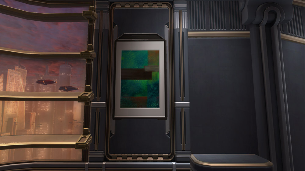 SWTOR Painting: Abstract Rectangles