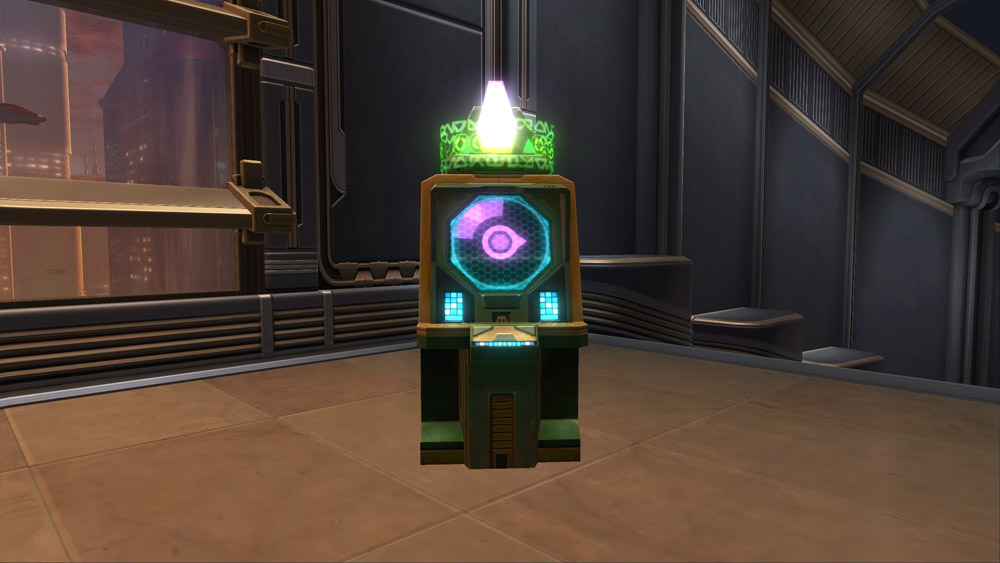 swtor contraband cartel slot machine