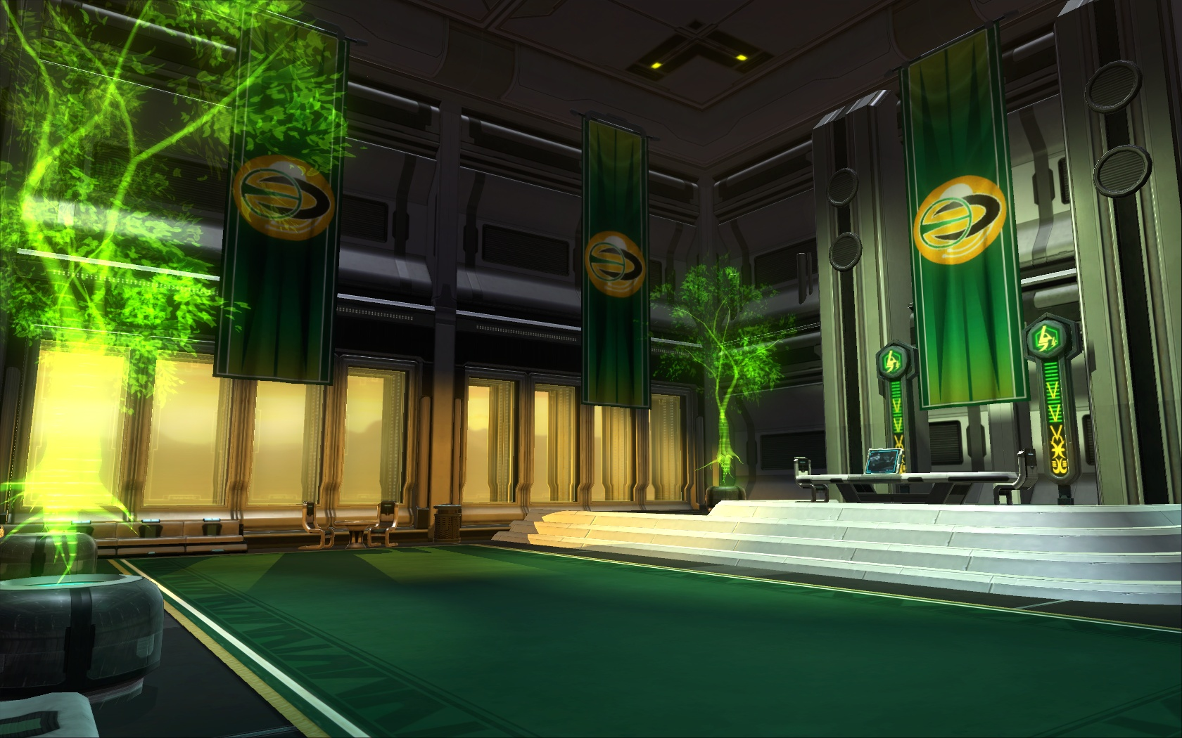 czerka decorations collection swtor strongholds