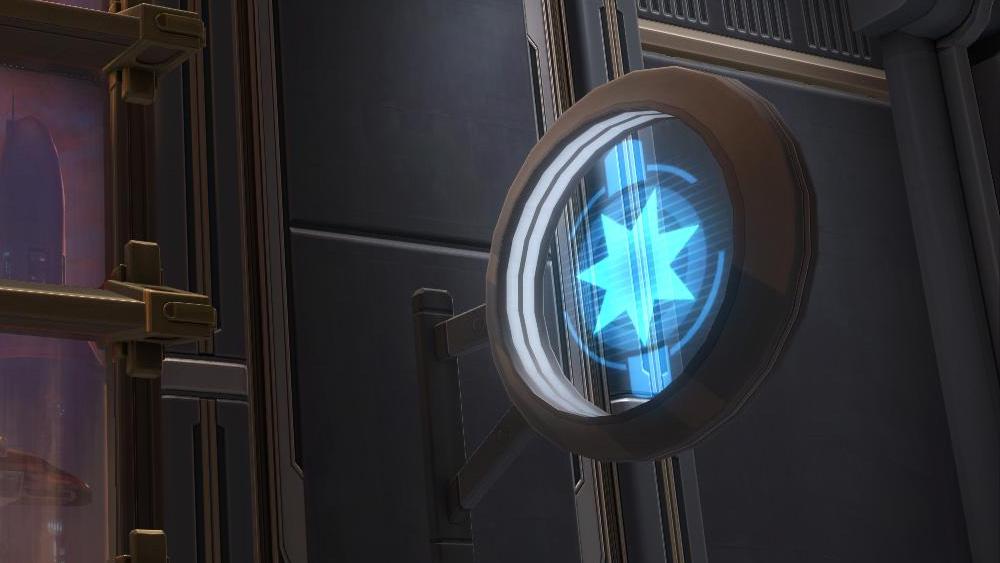 SWTOR Circular Sign: Light Side