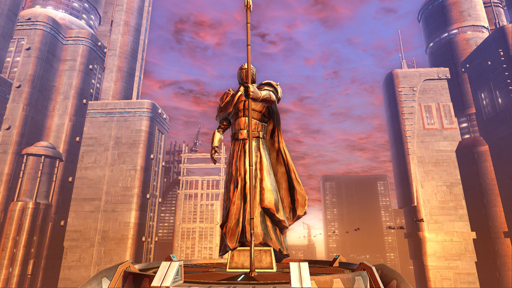 Second Grand Statue Of Mandalore Decoration Swtor