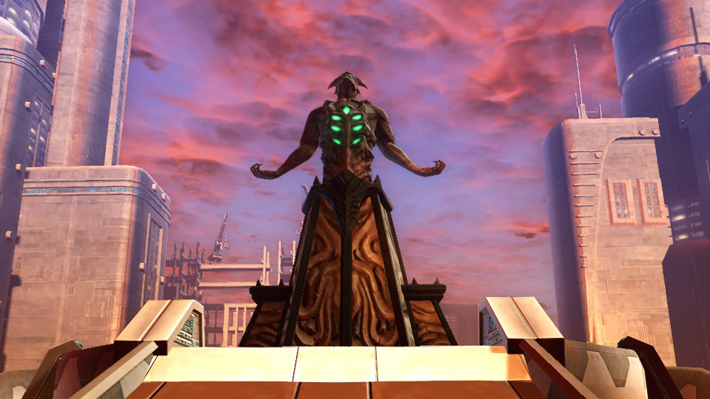 SWTOR Statue of Ancient Horror