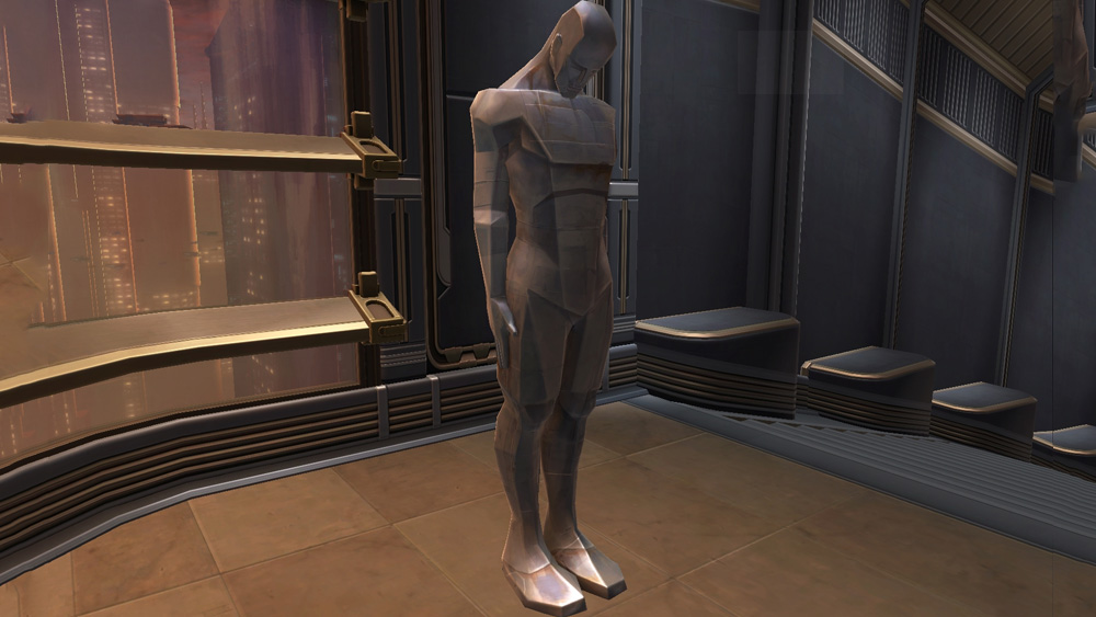 SWTOR Statue of the Ancient Slave
