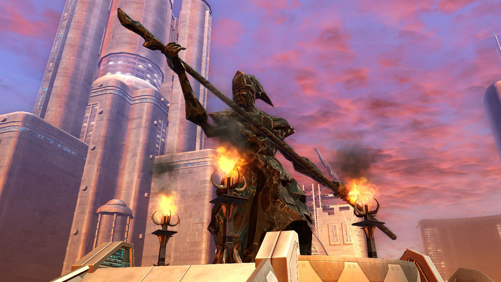 SWTOR Statue of the Oriconian Warrior