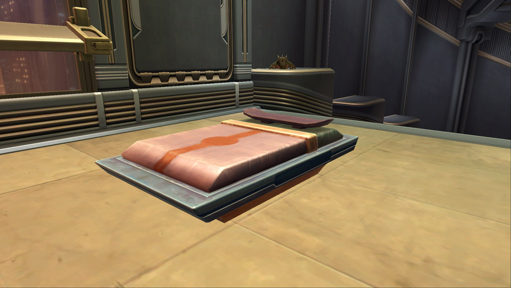 SWTOR Temple Bed