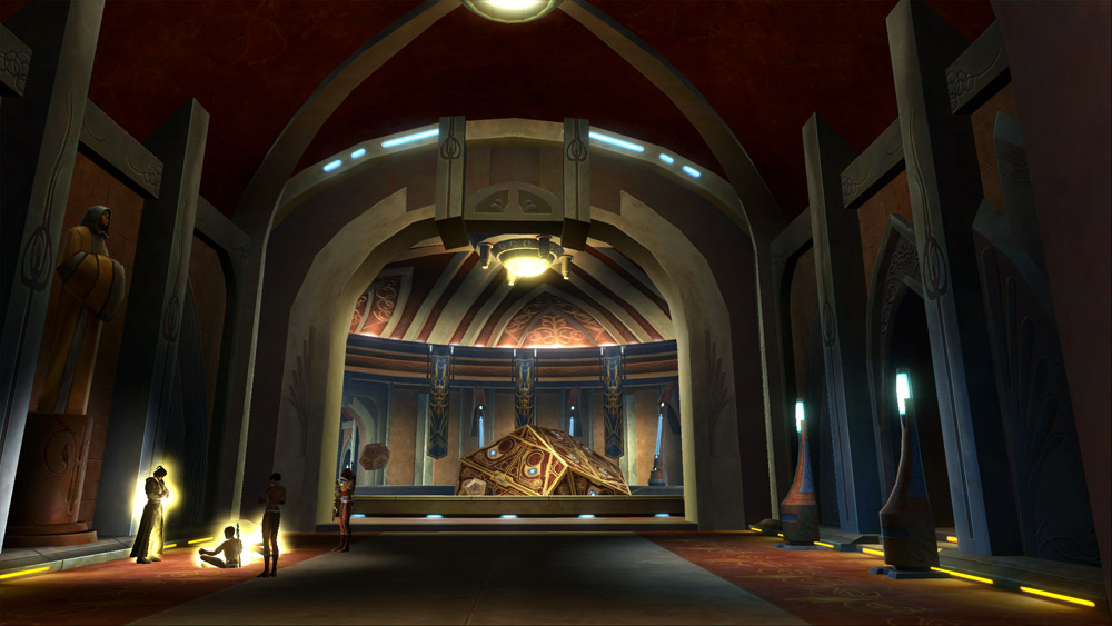 Jedi Decorations Swtor Strongholds