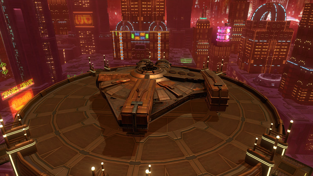 Xs Stock Light Freighter Decoration Swtor Strongholds