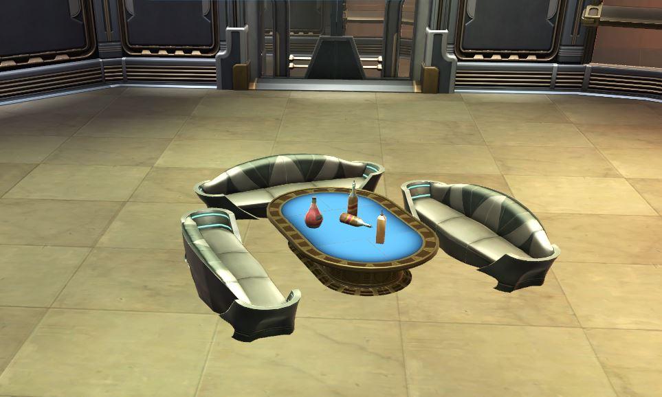 Arrangement: Zakuulan Luxury Lounge