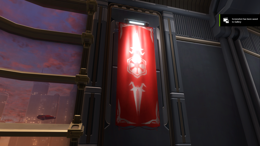 SWTOR Banner: Sith Empire