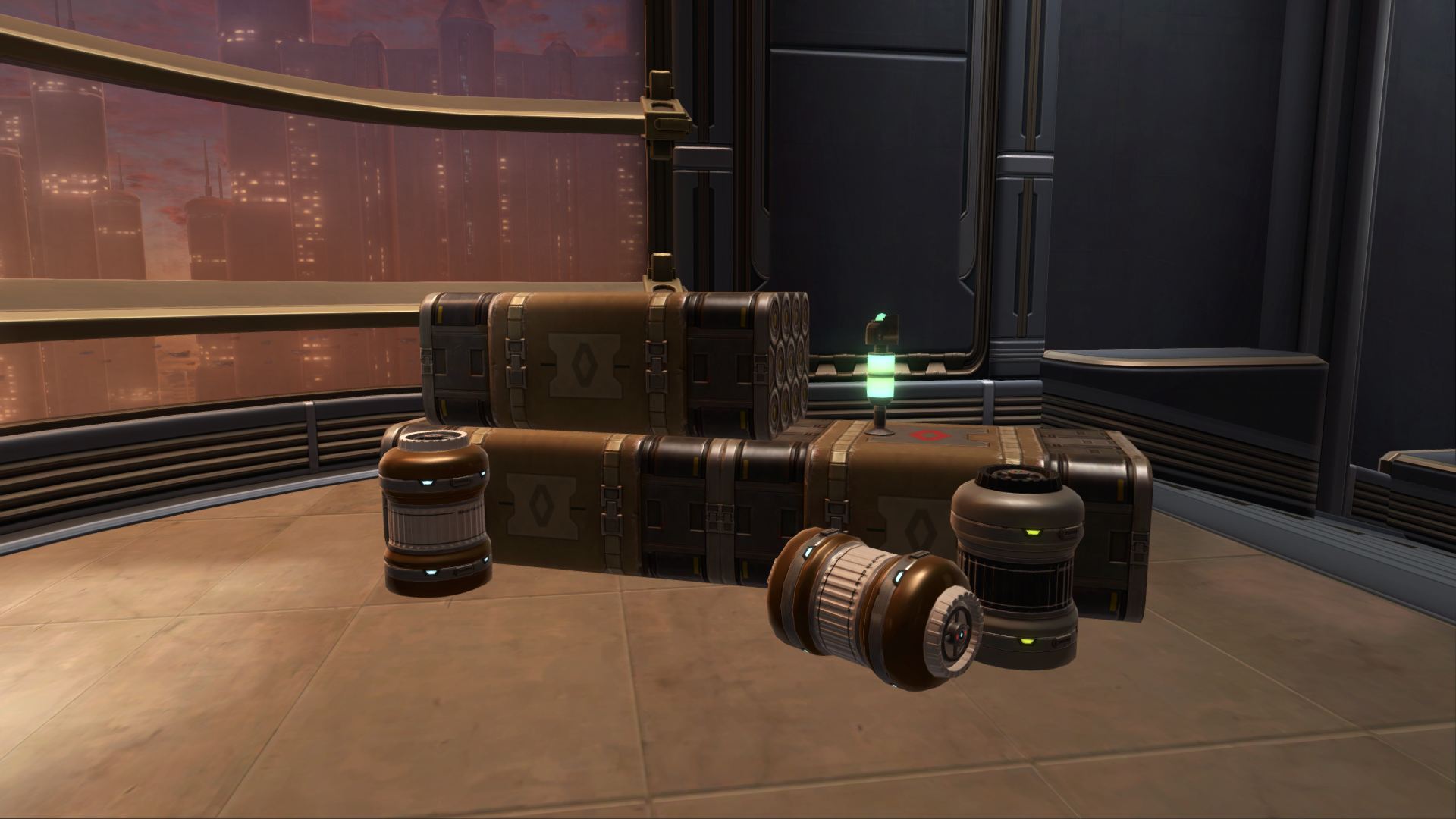 Coil Supply Crates (Stacked)