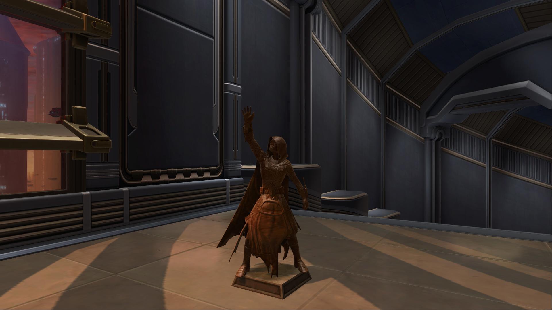 Commemorative Statue of Revan The Returned
