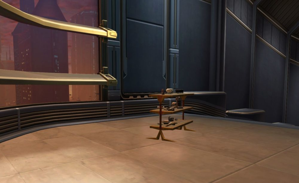 SWTOR Droid Parts Shelf