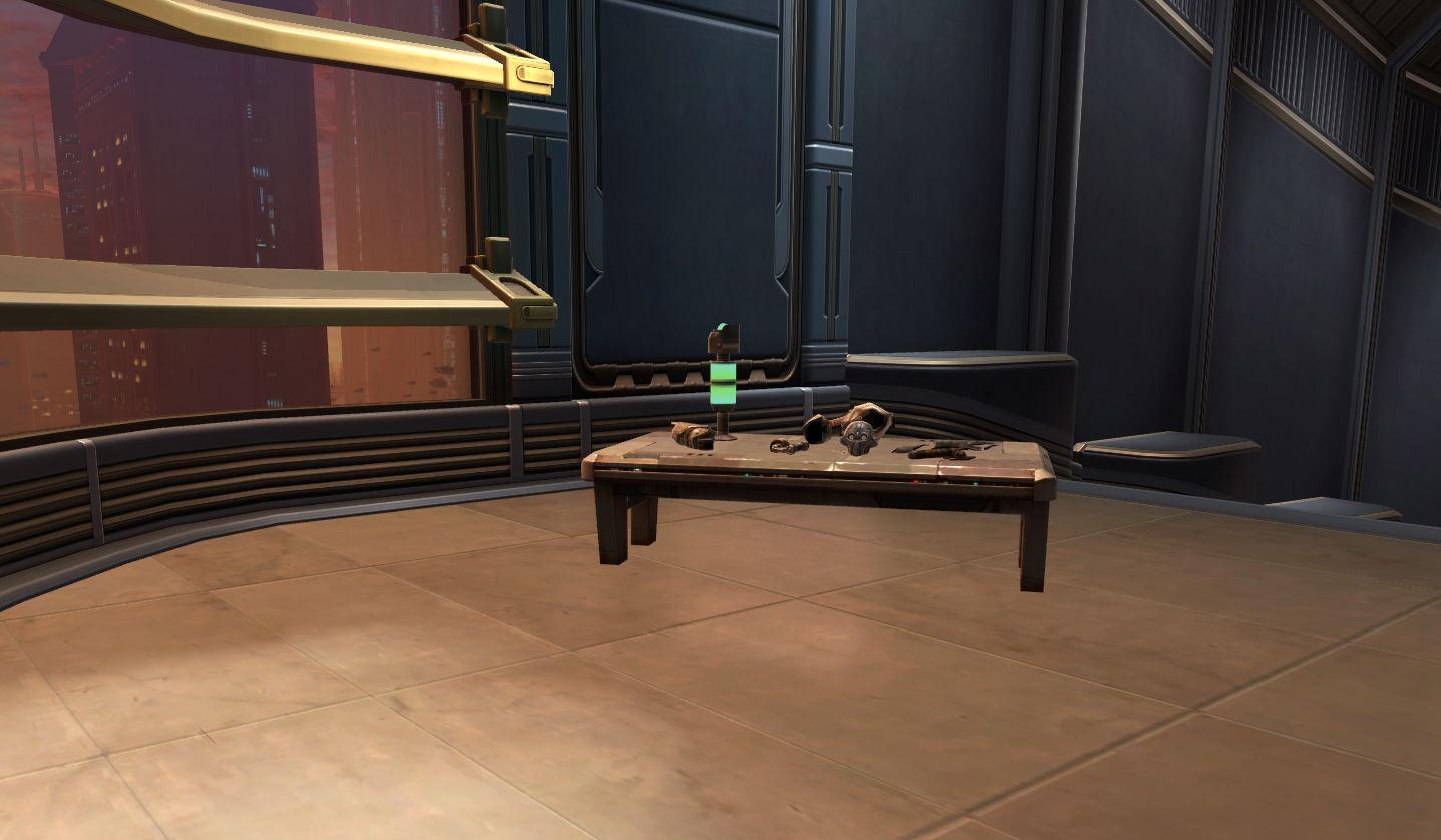 Droid Repair Table