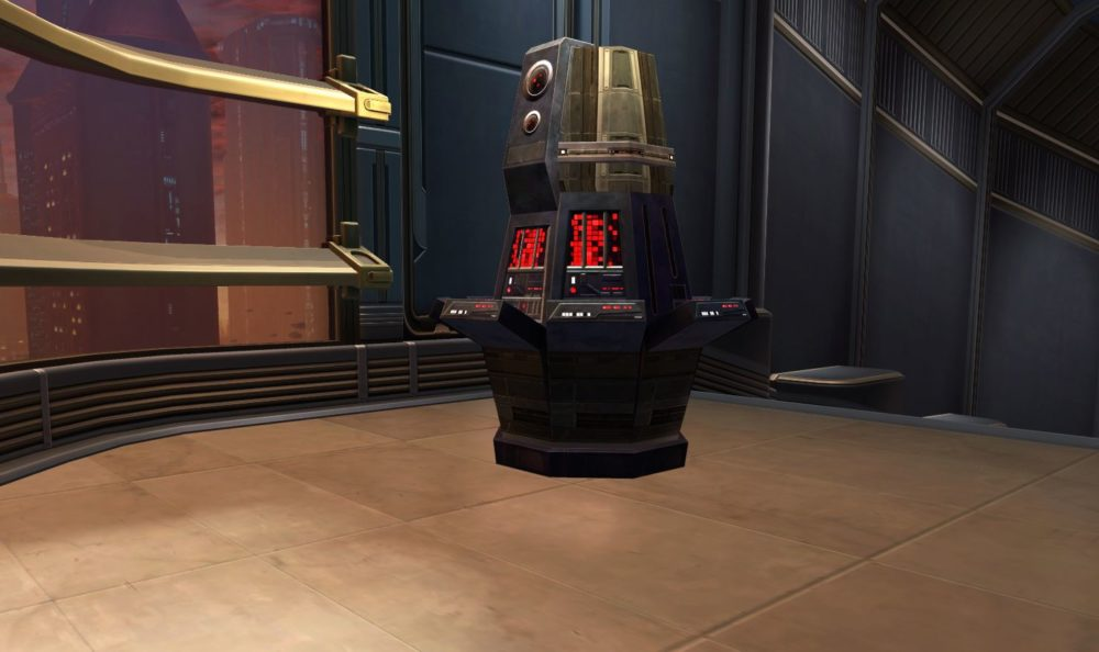 SWTOR Imperial Security Console