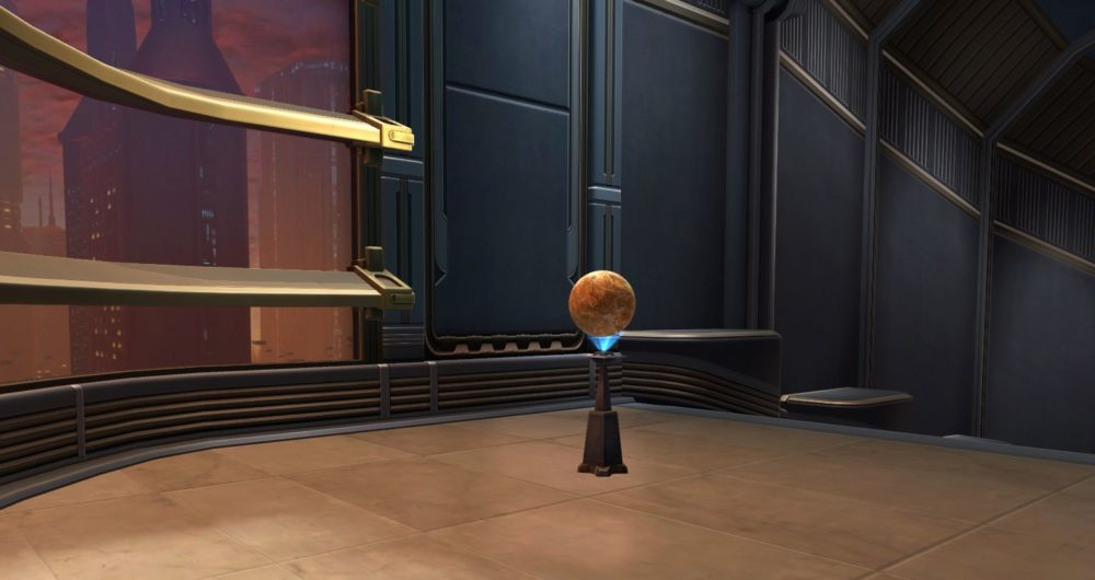 SWTOR Planetary Display: Tatooine