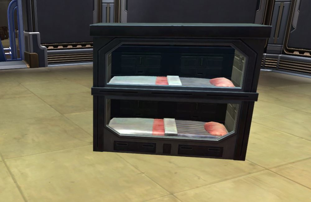 SWTOR Sith Bunk Bed