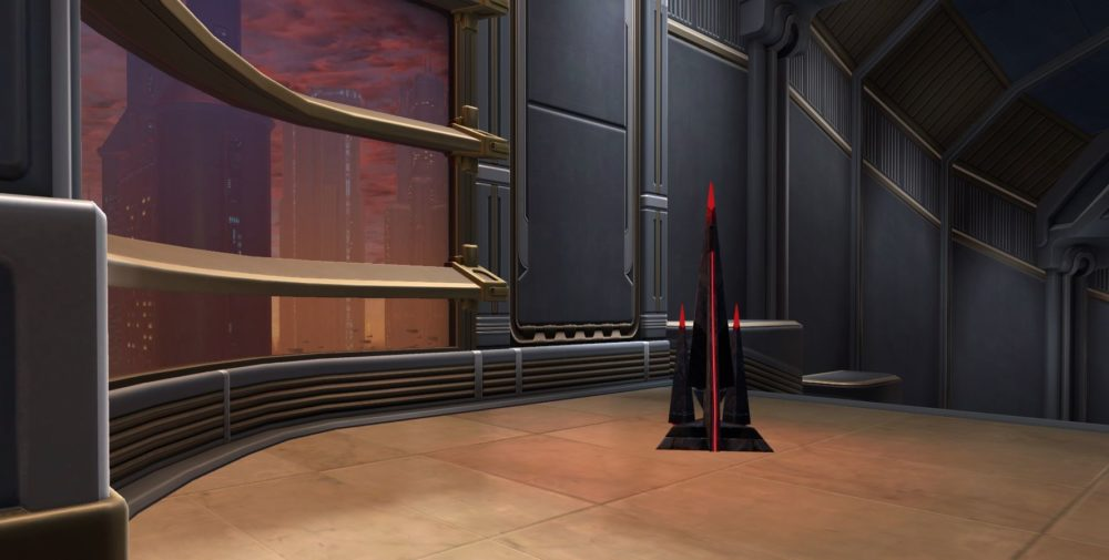 SWTOR Sith Temple Hall Light