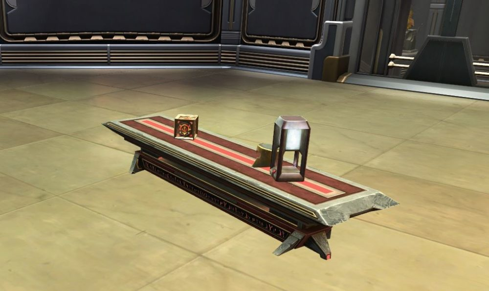 SWTOR Sith Temple Long Table