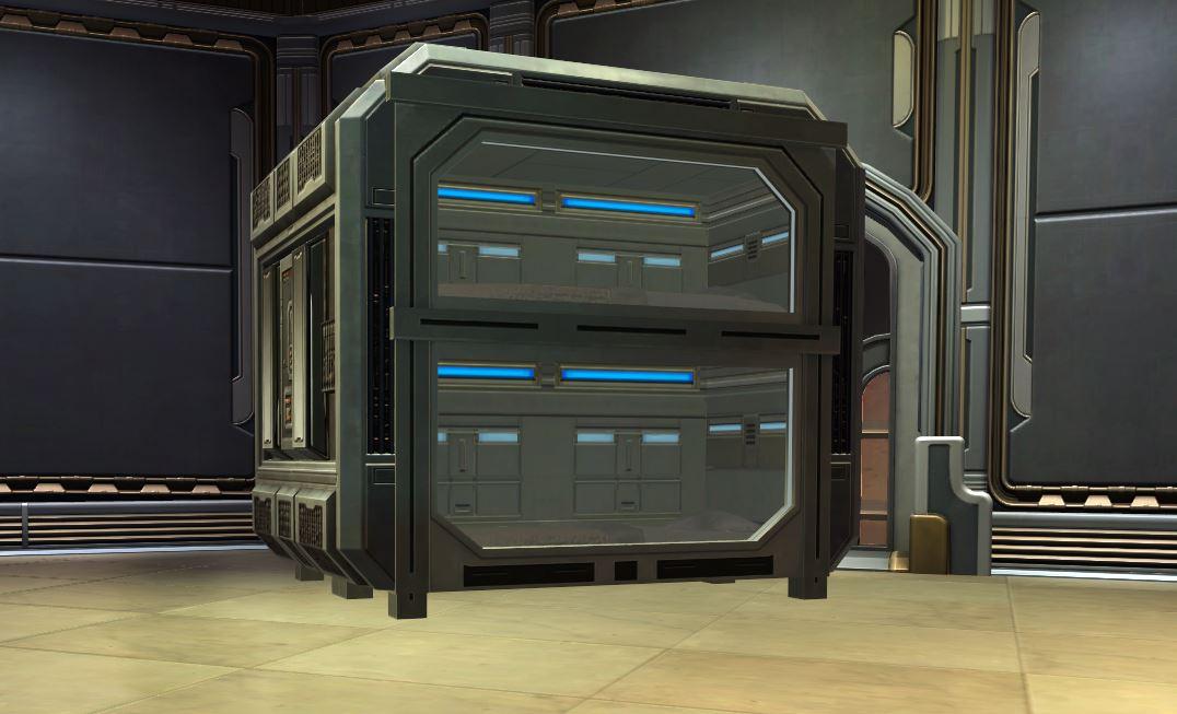 Star Fortress Stasis Bunk