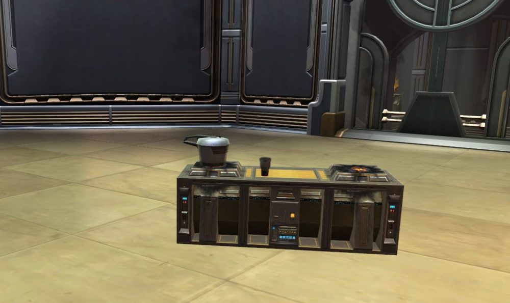 SWTOR Underworld Cooking Stove