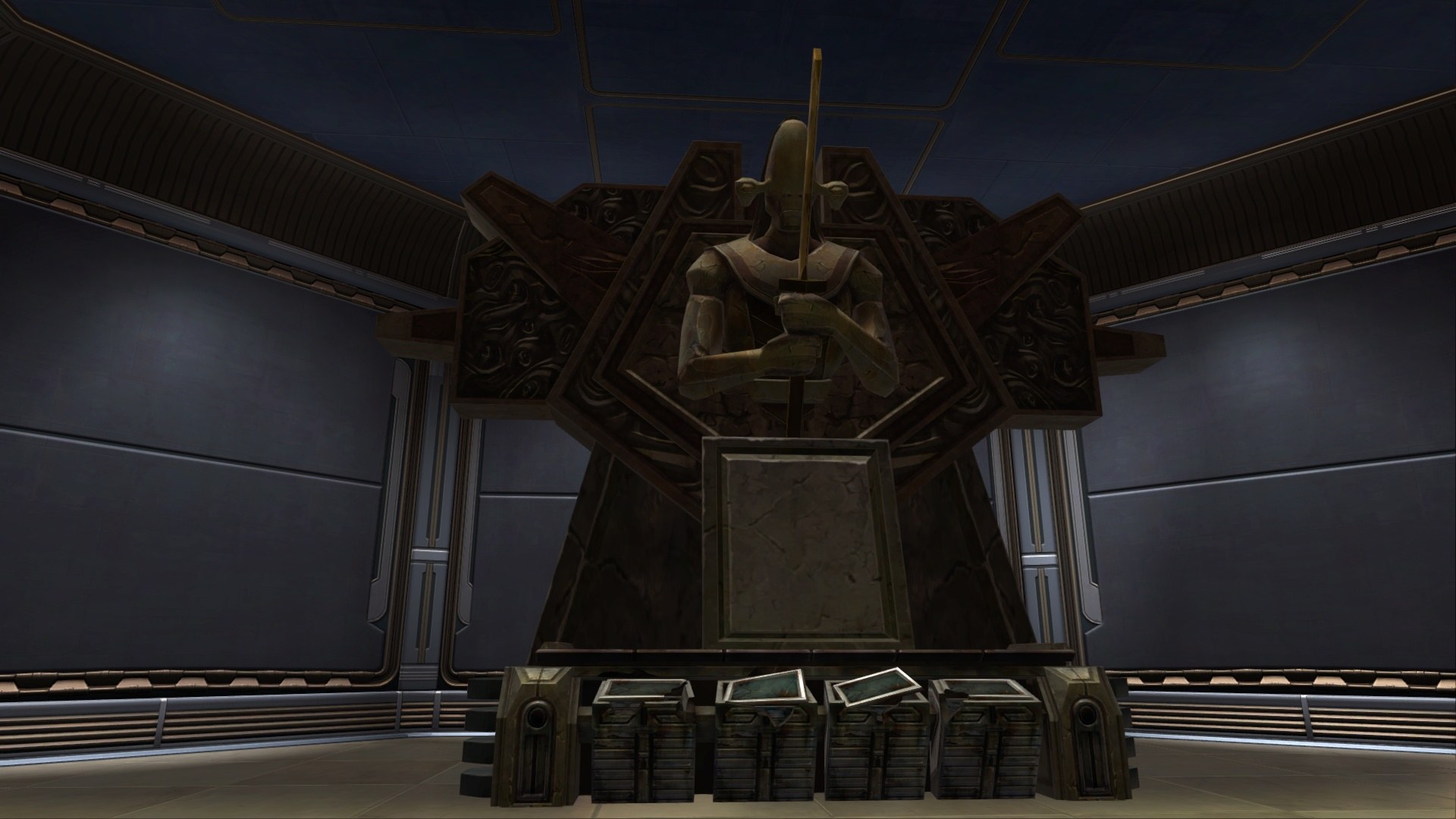 Ancient rakata terminal decoration swtor strongholds for Ancient decoration
