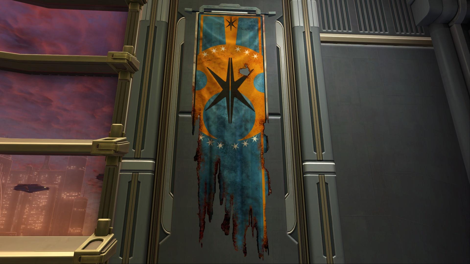 Banner: Orange Corellia (Damaged)