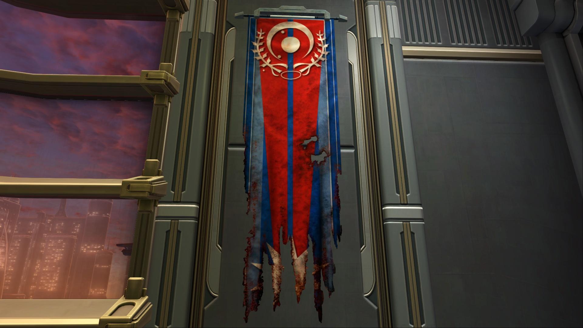 Banner: Red Corellia (Damaged)