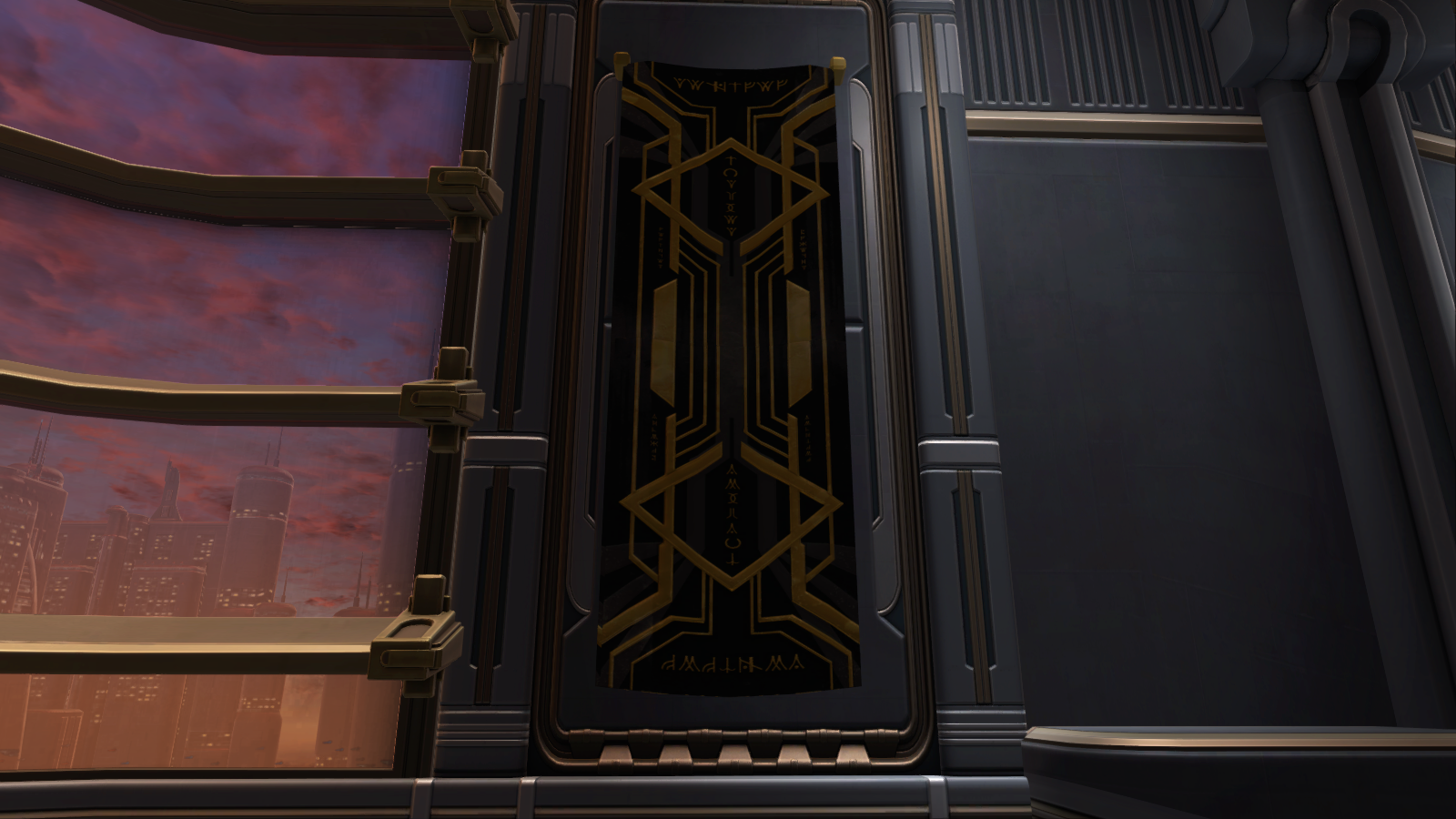 Banner Scions Of Zakuul Decoration Swtor Strongholds